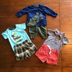 Carters Safari Bundle 3M